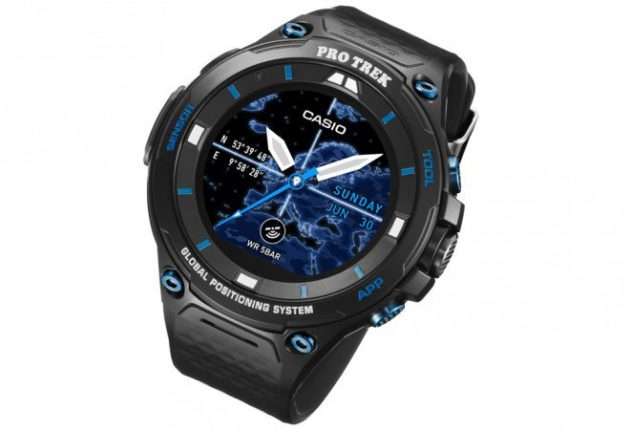 Casio Pro Trek WSD-F20S: nuovo smartwatch rugged con Android Wear 2.0