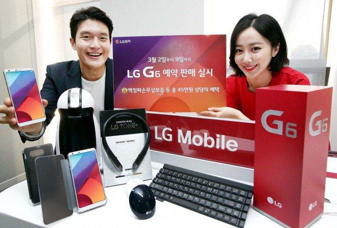 LG G6 pre-ordini