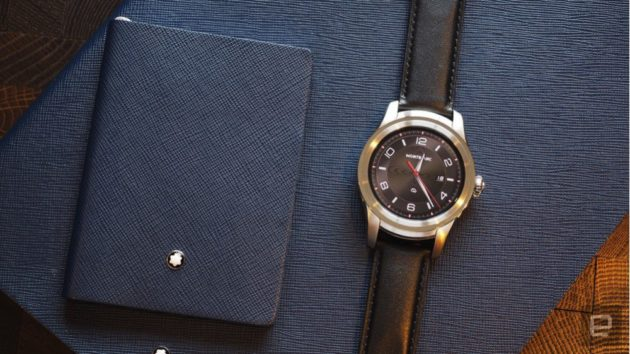 Montblanc Summit è il primo smartwatch della casa tedesca