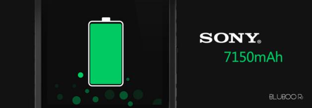 BLUBOO R1: batteria da 7150 mAh