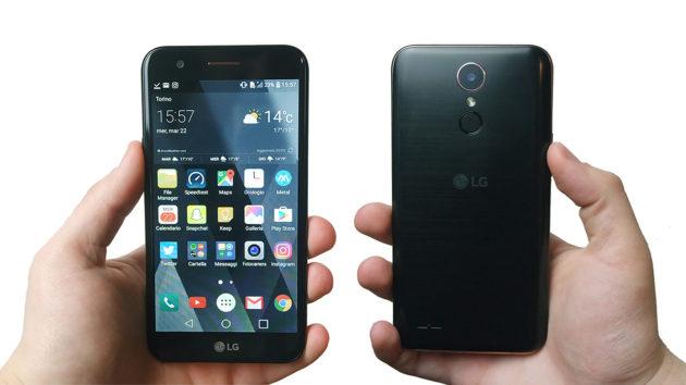 LG K10 2017, solidità e stile a buon prezzo | La Recensione