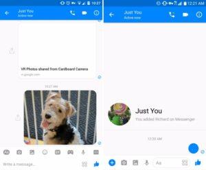 Facebook Messenger a lavoro su una rinnovata veste grafica (1)