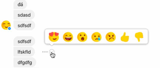Facebook introdurrà le reazioni anche su Messenger (2)