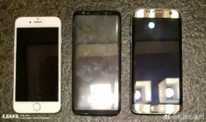 Galaxy S8 dimensioni a confronto con i diretti avversari (1)