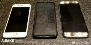 Galaxy S8 dimensioni a confronto con i diretti avversari (2)