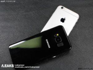 Galaxy S8 dimensioni a confronto con i diretti avversari (4)