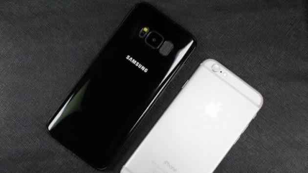 Galaxy S8: dimensioni a confronto con i diretti avversari - FOTO
