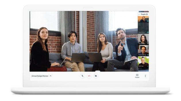 Hangouts Meet e Chat, le nuove app di Google per le aziende