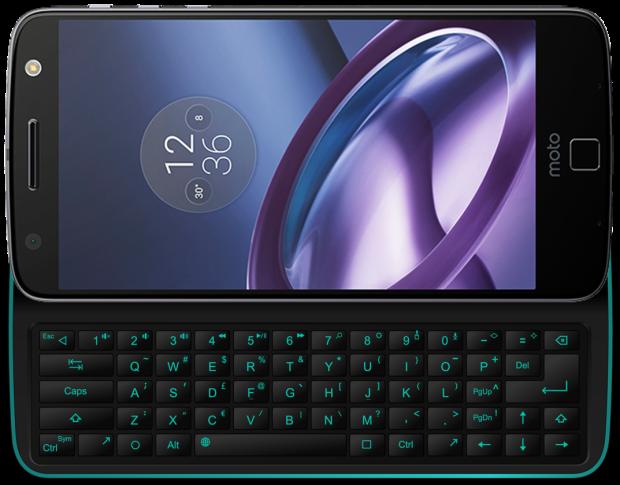 tastiera fisica per Moto Z