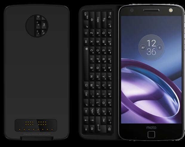 Su Indiegogo è disponibile una tastiera fisica per Moto Z