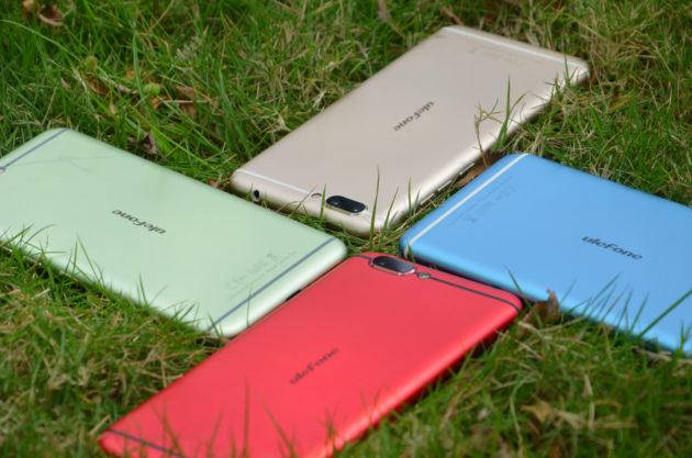 Ulefone Gemini Pro sarà disponibili in 6 colori