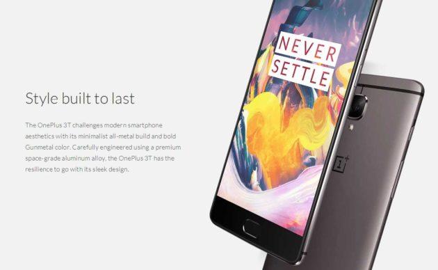 OnePlus 3T in sconto su GearBest