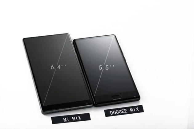 DOOGEE MIX: come Xiaomi MIX, solo più piccolo