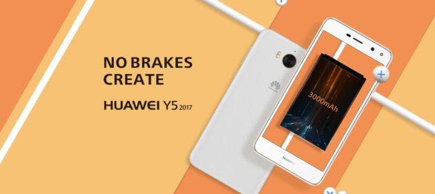 Huawei Y5 2017: svelato il nuovo device di fascia bassa della casa cinese