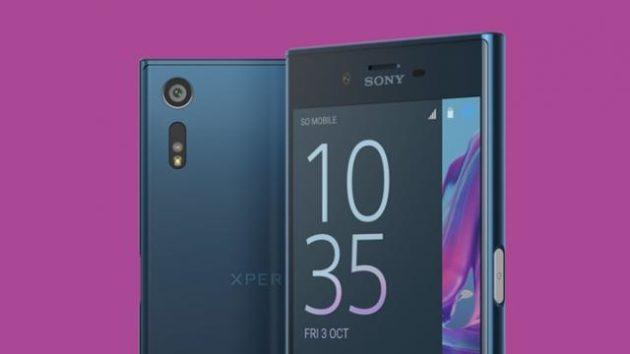 Sony Xperia XZ  e X Performance aggiornati alla versione 7.1.1