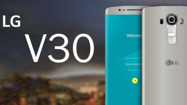 LG V30 avrà un display simile a quello del Samsung Galaxy S8?