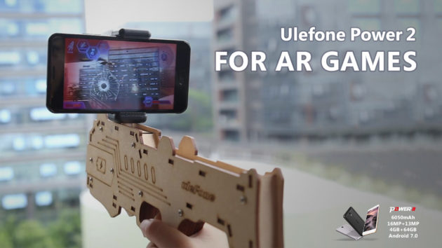 Ulefone Power 2: gaming in realtà aumentata