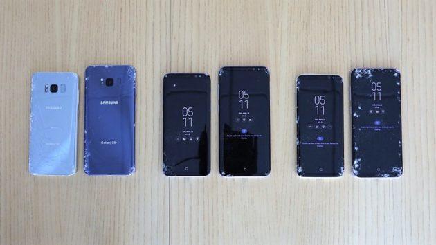 Samsung Galaxy S8: lo schermo è davvero così fragile? - VIDEO