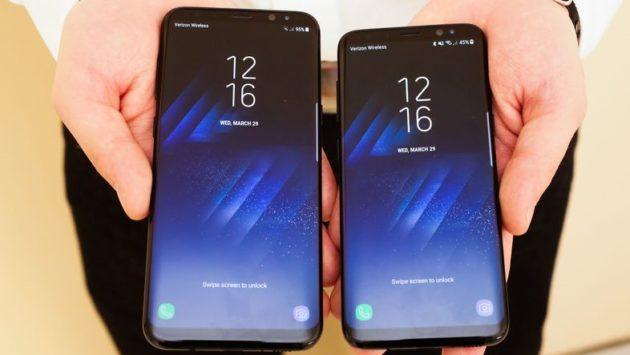 Galaxy S8: niente burn in per il tasto home