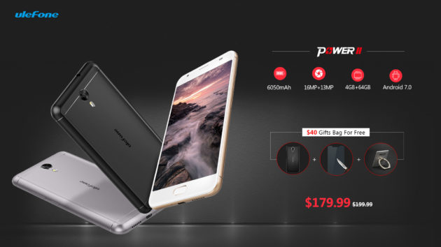 Ulefone Power 2 disponibile al presale