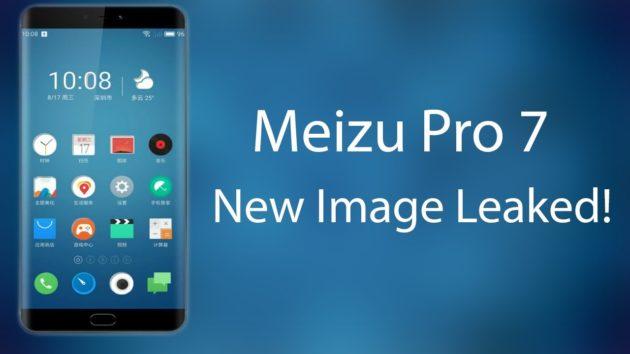 Meizu Pro 7: una nuova immagine ci mostra il suo design