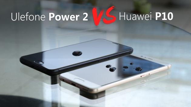 Ulefone Power 2 sfida Huawei P10