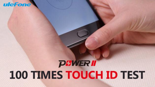 Ulefone Power 2: test del lettore di impronte