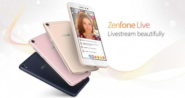 ASUS Zenfone Live arriva in Europa a 170€