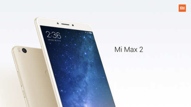 "Xiaomi Mi Max 2 ufficiale: display FHD da 6,44"" e batteria da 5300 mAh"