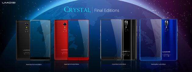 UMIDIGI Crystal ID: 4 versioni disponibili e programma di recensioni