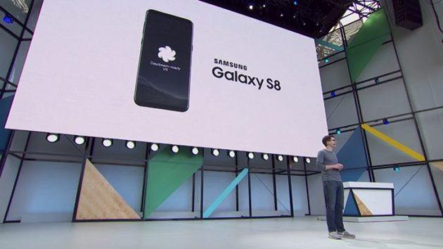 Daydream sarà disponibile per Galaxy S8, mentre per LG bisognerà aspettare un nuovo smartphone
