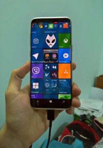 Galaxy S8 esiste davvero una versione con Windows 10 Mobile (1)