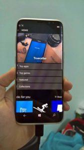 Galaxy S8 esiste davvero una versione con Windows 10 Mobile (3)