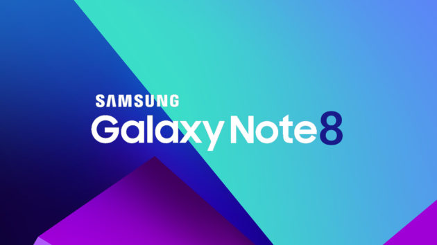 Galaxy Note 8: dual camera con setup verticale