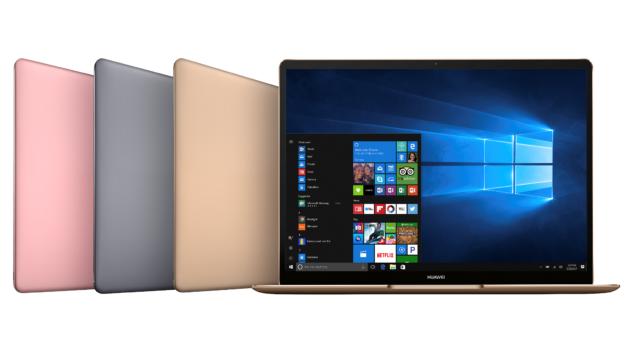 Huawei svela la nuova linea MateBook