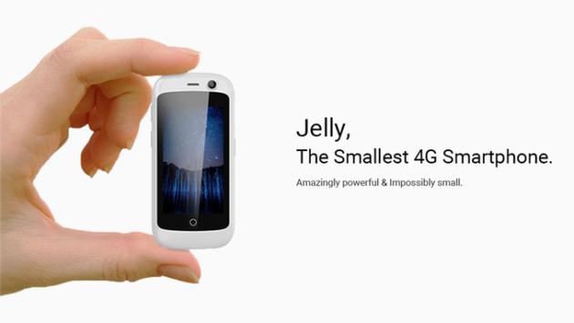 Jelly, lo smartphone che se ne frega delle dimensioni (l'importante è usarlo bene, no?!)