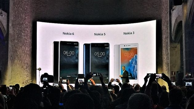 Nokia 6, Nokia 5 e Nokia 3: quando sbarcheranno sul mercato globale?