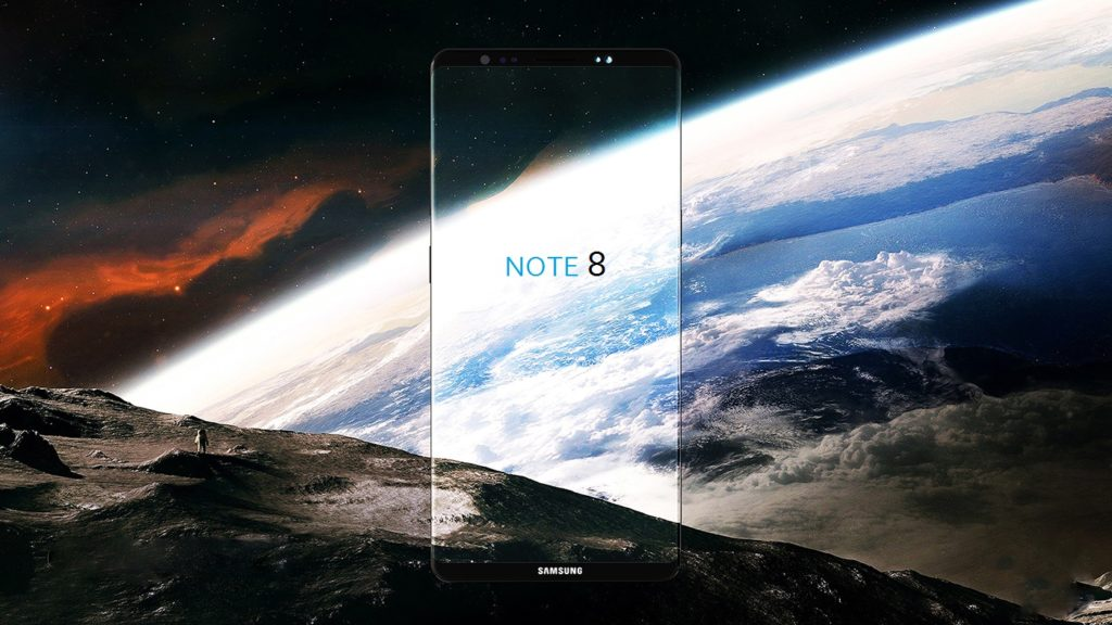 Note 8 vi piacerebbe un modello a tutto schermo - FOTO