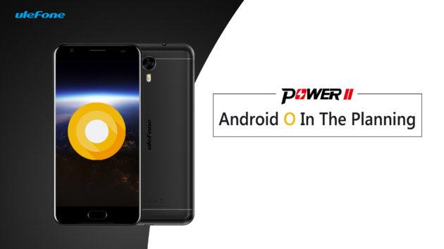 Ulefone Power 2 verrà aggiornato ad Android 8
