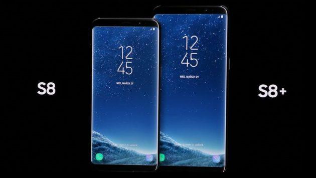 Samsung Galaxy S8 ed S8 Plus disponibili online a 624€ e 749€