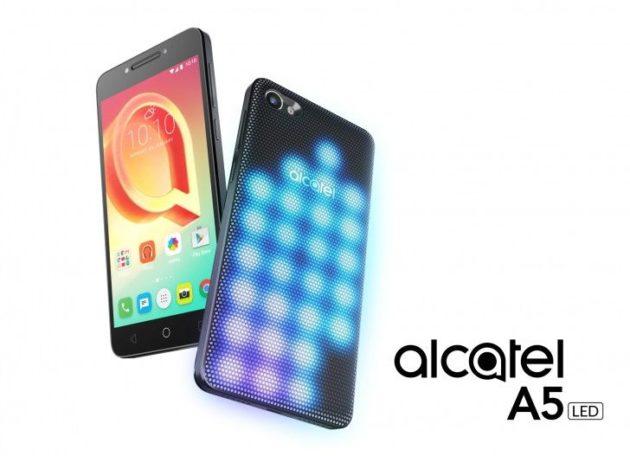 Arriva anche in Italia Alcatel A5 Led con tutta la sua luminosità