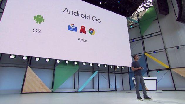 Android Go, una versione alleggerita di Android per dispositivi entry-level [Google I/O]