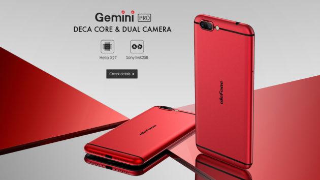 Ulefone Gemini Pro sarà disponibile dal 31 Maggio