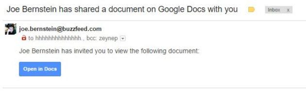 Google rilascia una dichiarazione in merito all'attacco phishing che ha colpito Google Docs