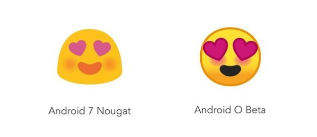 Android O: Emoji totalmente ridisegnate, per la gioia di molti [Google I/O]