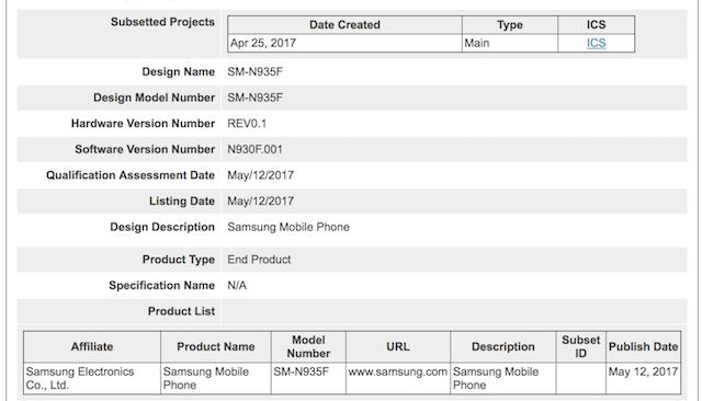 Samsung Galaxy Note 8: i primi dettagli tecnici sulla doppia fotocamera posteriore