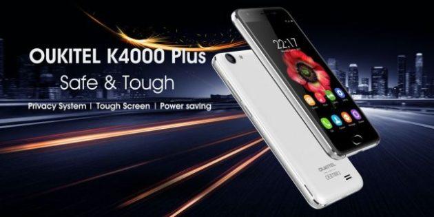 Oukitel K4000 Plus, il nuovo dispositivo che punta sulla privacy