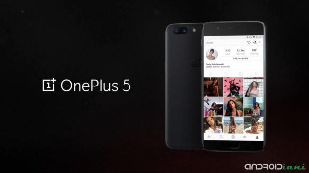 OnePlus 5 ufficiale, Snapdragon 835 e doppia fotocamera