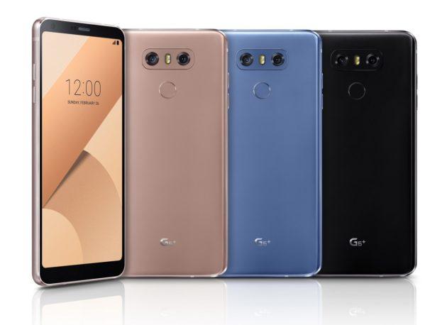 LG G6+ ufficiale: 6GB di RAM e 128GB di memoria interna