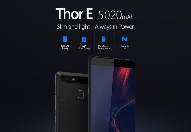 Vernee Thor E: autonomia di tre giorni e ricarica rapida